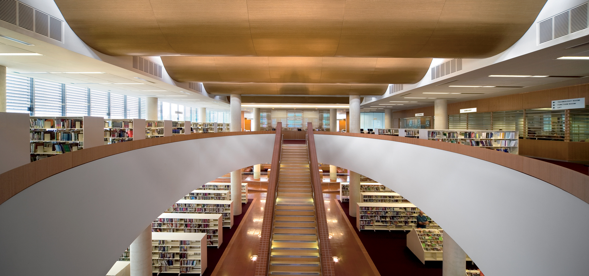 Max Webber Library designed by fjmt