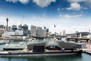 Waterfront Pavilion Darling Harbour designed by fjmt