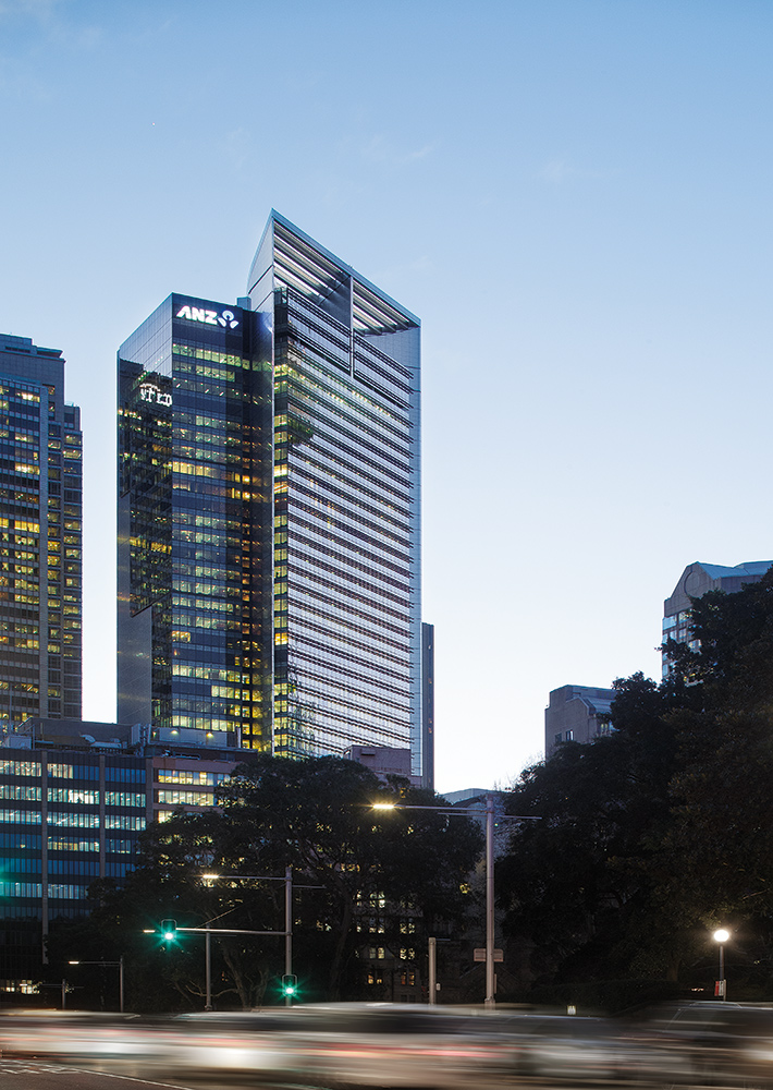 ANZ Tower designed by fjmt