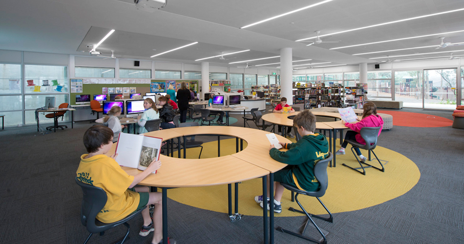 Eltham North Public School designed by fjmt