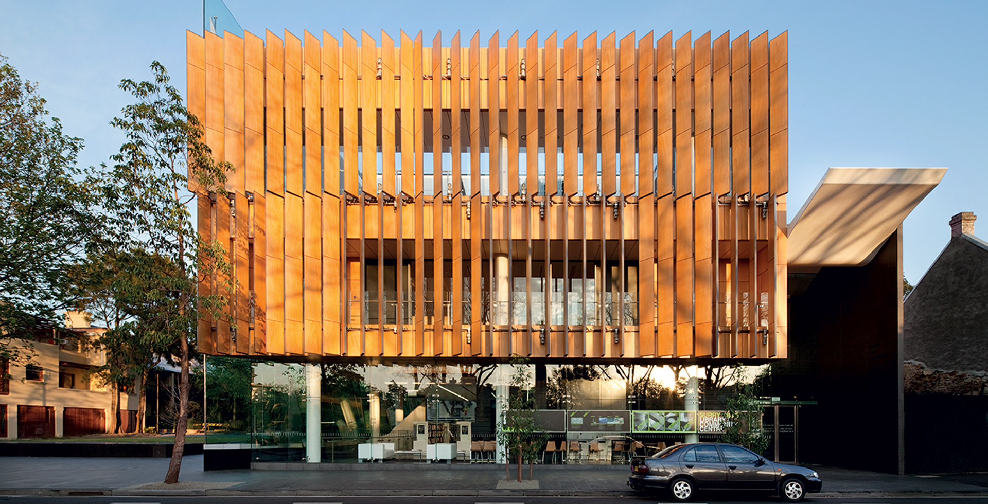 Surry Hills Neighbourhood Centre designed by fjmt