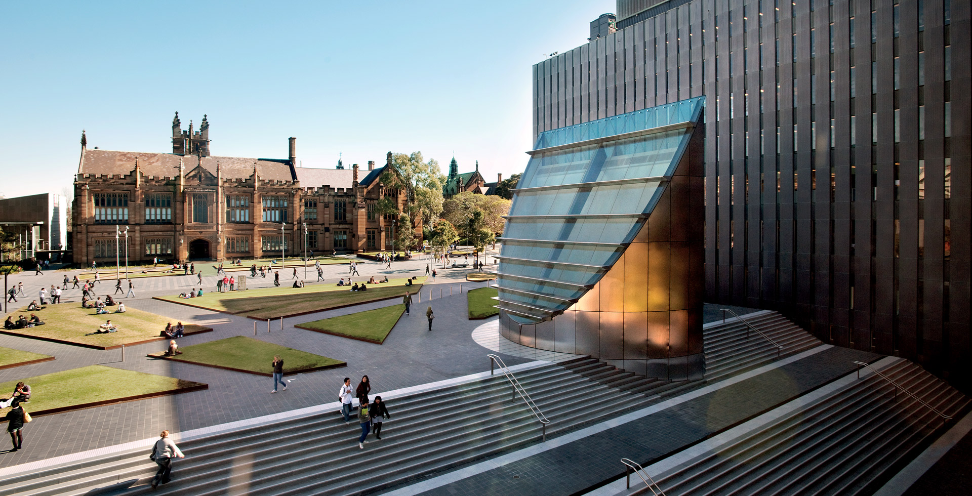 Law School, University of Sydney designed by fjmt