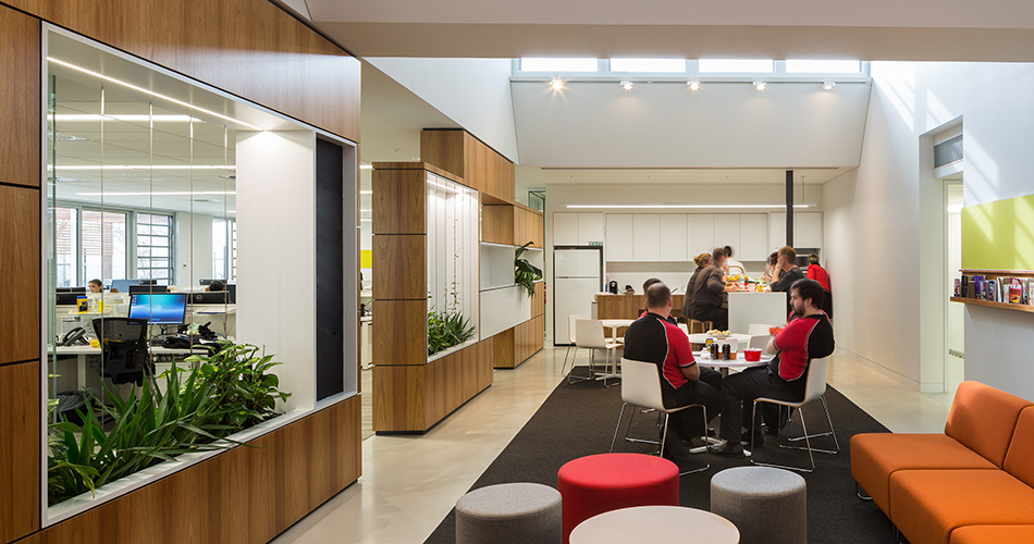Ballarat District Nursing fjmt workplace interior design architecture