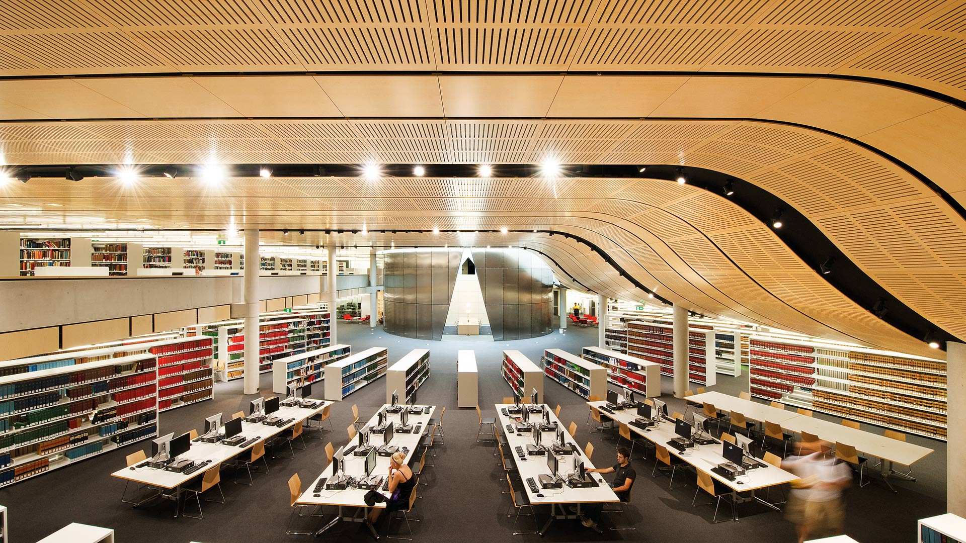 Sydney University Library Law School interior architecture